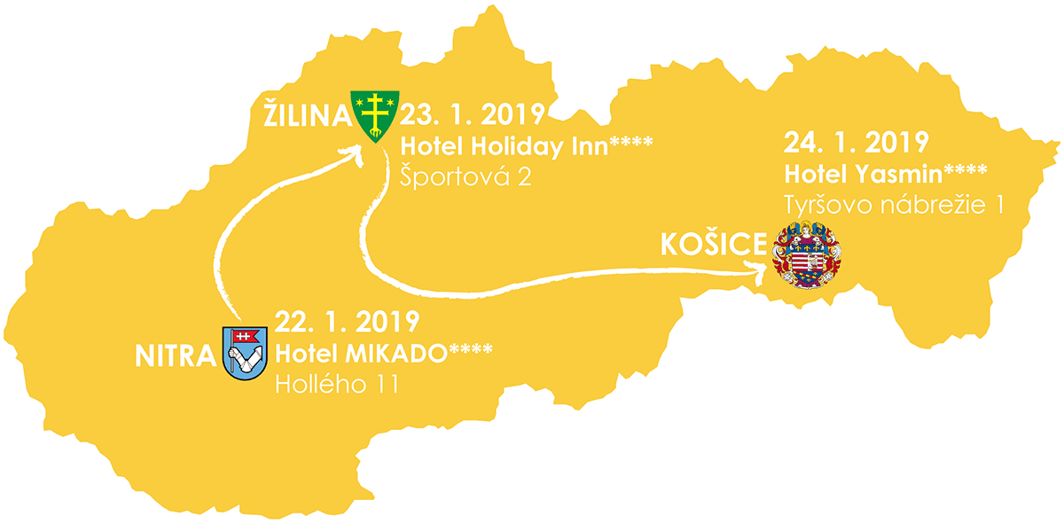 Road-show 2019-01 Map